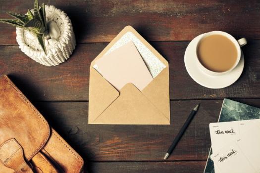 Письмо в конверте красивое фото